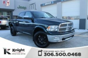 2011 Ram 1500 Laramie Heated/Cooled Leather Seats Dual DVD Rear