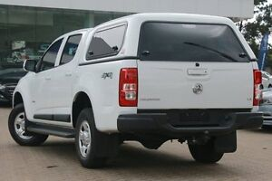 2014 Holden Colorado RG MY14 LX (4x4) White 6 Speed Automatic Crewcab Zetland Inner Sydney Preview