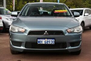 2007 Mitsubishi Lancer CJ MY08 ES Blue 6 Speed Constant Variable Sedan Cannington Canning Area Preview