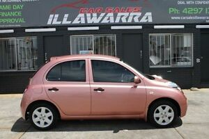 2008 Nissan Micra K12 Pink 4 Speed Automatic Hatchback Barrack Heights Shellharbour Area Preview