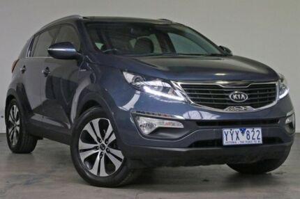 2012 Kia Sportage SL MY12 Platinum Blue 6 Speed Sports Automatic Wagon Southbank Melbourne City Preview