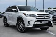 2017 Toyota Kluger GSU55R Grande AWD Crystal Pearl 8 Speed Sports Automatic Wagon Blacktown Blacktown Area Preview