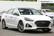 2017 Hyundai Sonata LF4 MY18 Premium White Cream 8 Speed Sports Automatic Sedan Hendon Charles Sturt Area Preview