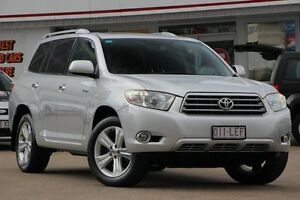 2008 Toyota Kluger GSU40R Grande 2WD Silver 5 Speed Sports Automatic Wagon Woolloongabba Brisbane South West Preview