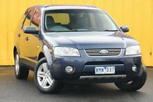 2008 Ford Territory SY Ghia AWD Blue Passion 6 Speed Sports Automatic Wagon Heatherton Kingston Area Preview