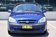 2005 Hyundai Getz TB MY06 SXI Blue 5 Speed Manual Hatchback Cardiff Lake Macquarie Area Preview