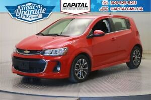 2017 Chevrolet Sonic LT HB *Back Up Camera-Remote Start-Heated S