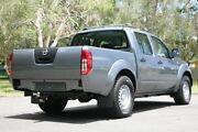 2012 Nissan Navara D40 S6 MY12 RX 4x2 Grey 6 Speed Manual Utility Slacks Creek Logan Area Preview