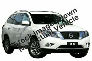 2014 Nissan Pathfinder R52 MY14 ST-L X-tronic 2WD White 1 Speed Constant Variable Wagon Lilydale Yarra Ranges Preview