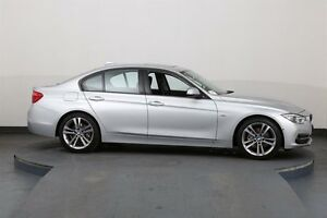 2015 BMW 320D F30 MY15 20D Silver 8 Speed Automatic Sedan Smithfield Parramatta Area Preview