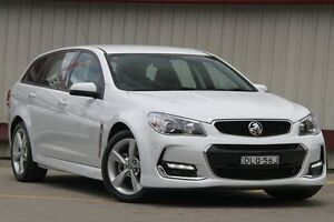 2015 Holden Commodore VF MY15 SV6 White 6 Speed Automatic Sportswagon Homebush Strathfield Area Preview
