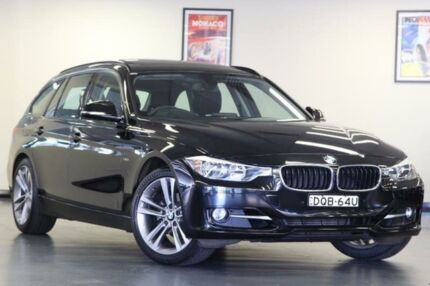 2014 BMW 320i F31 Sport Line Black Sports Automatic Wagon