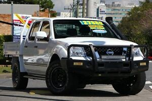 2012 Nissan Navara D40 S6 MY12 ST White 6 Speed Manual Utility Windsor Brisbane North East Preview
