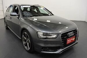 2012 Audi A4 B8 8K MY13 Avant S tronic quattro Grey Sports Automatic Dual Clutch Wagon Moorabbin Kingston Area Preview
