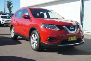 2016 Nissan X-Trail T32 ST X-tronic 4WD Red 7 Speed Constant Variable Wagon Cardiff Lake Macquarie Area Preview