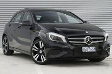 2015 Mercedes-Benz A200 176 MY15 BE Black 7 Speed Sports Automatic Dual Clutch Hatchback Ringwood East Maroondah Area Preview