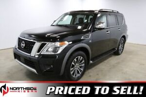 2018 Nissan Armada 4WD SL Accident Free,  Navigation,  Leather,
