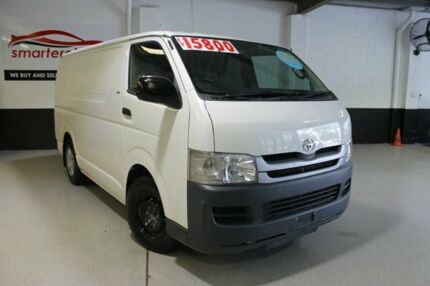 2007 Toyota Hiace LWB White 5 Speed Manual Van Southport Gold Coast City Preview
