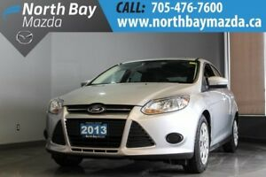 2013 Ford Focus SE Manual with Bluetooth, Cruise Control, Low Mi