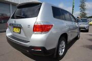 2010 Toyota Kluger GSU40R MY11 KX-R 2WD Silver 5 Speed Sports Automatic Wagon Cardiff Lake Macquarie Area Preview