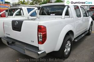 2010 Nissan Navara D40 ST White 6 Speed Manual Utility