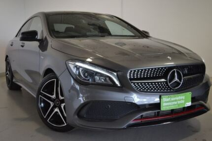 2016 Mercedes-Benz CLA250 C117 807MY Sport DCT 4MATIC Grey 7 Speed Sports Automatic Dual Clutch Wagga Wagga Wagga Wagga City Preview