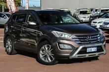 2013 Hyundai Santa Fe DM MY13 Highlander Brown 6 Speed Sports Automatic Wagon Cannington Canning Area Preview