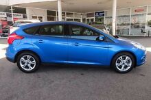 2013 Ford Focus LW MKII Trend Blue 5 Speed Manual Hatchback Osborne Park Stirling Area Preview