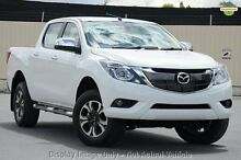 2016 Mazda BT-50 MY16 XTR (4x4) Cool White 6 Speed Automatic Dual Cab Utility Gymea Sutherland Area Preview
