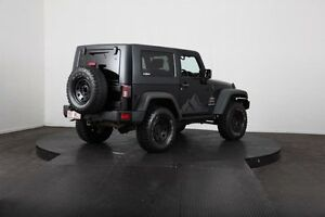 2010 Jeep Wrangler JK MY09 Sport (4x4) Black 6 Speed Manual Softtop McGraths Hill Hawkesbury Area Preview