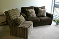 Sofa Set/Couch/Loveseat and Accent Chair