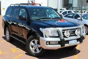 2011 Toyota Landcruiser VDJ200R MY10 Sahara Black 6 Speed Sports Automatic Wagon Westminster Stirling Area Preview