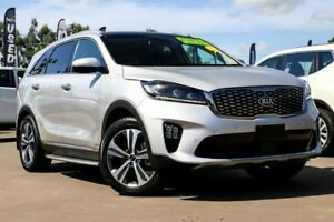 2018 Kia Sorento UM MY19 GT-Line AWD Silver 8 Speed Sports Automatic Wagon McGraths Hill Hawkesbury Area Preview