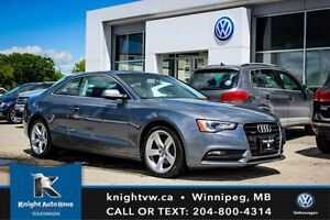 2014 Audi A5 Quattro AWD w/ Leather/Sunroof