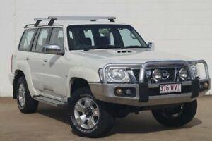 2013 Nissan Patrol Y61 GU 8 ST White Diamond 4 Speed Automatic Wagon Bundaberg Central Bundaberg City Preview