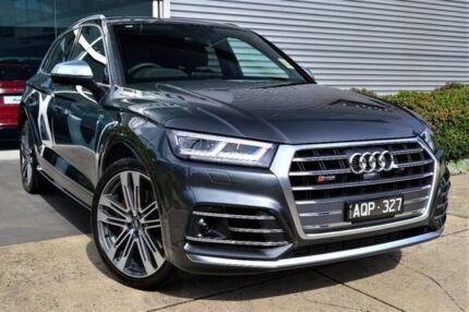 2017 Audi SQ5 FY MY18 Tiptronic Quattro Grey 8 Speed Sports Automatic Wagon