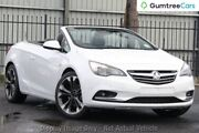 2016 Holden Cascada CJ MY16 White 6 Speed Sports Automatic Convertible Hillcrest Logan Area Preview