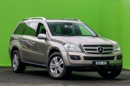 2008 Mercedes-Benz GL320 CDI X164 Cubanite Silver 7 Speed Sports Automatic Wagon