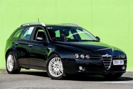 2008 Alfa Romeo 159 JTD Black 6 Speed Sports Automatic Wagon Ringwood East Maroondah Area Preview