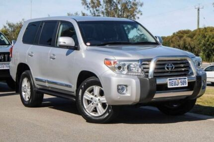 2015 Toyota Landcruiser VDJ200R MY13 Sahara Silver 6 Speed Sports Automatic Wagon
