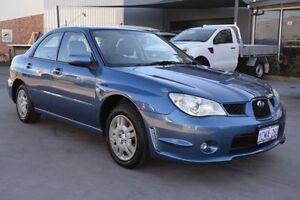 2007 Subaru Impreza MY07 2.0I (AWD) Blue 5 Speed 5 Sp Manual Sedan Welshpool Canning Area Preview