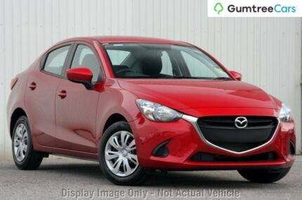 2017 Mazda 2 DL2SAA Neo SKYACTIV-Drive Soul Red 6 Speed Sports Automatic Sedan Kirrawee Sutherland Area Preview