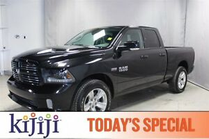 2015 Ram 1500 4WD QUADCAB SPORT Leather,  Heated Seats,  Sunroof
