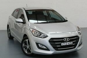 2015 Hyundai i30 GD3 Series II MY16 Active X Sleek Silver 6 Speed Sports Automatic Hatchback Cardiff Lake Macquarie Area Preview