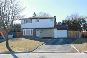 Beautiful 3 Bedroom Detached House for Rent North Oshawa