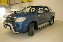2009 Toyota Hilux KUN26R MY10 SR5 Blue 4 Speed Automatic Utility Edgewater Joondalup Area Preview