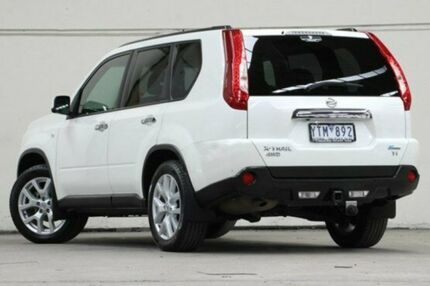 2011 Nissan X-Trail T31 Series IV TI Pearl White 1 Speed Constant Variable Wagon Vermont Whitehorse Area Preview