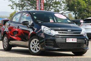 2016 Kia Rio UB MY16 S Aurora Black 4 Speed Sports Automatic Hatchback Yeerongpilly Brisbane South West Preview