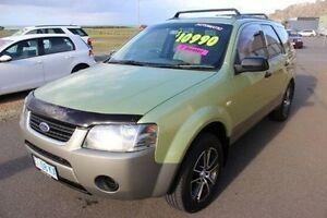 2004 Ford Territory SX TX Green 4 Speed Sports Automatic Wagon Burnie Burnie Area Preview