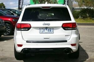 2013 Jeep Grand Cherokee WK MY2014 SRT White 8 Speed Sports Automatic Wagon